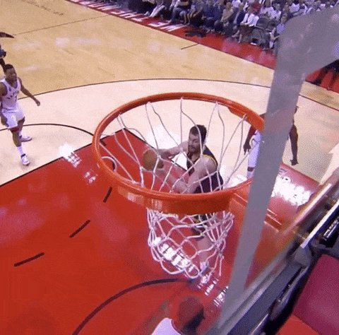 rejected bismack biyombo GIF by NBA