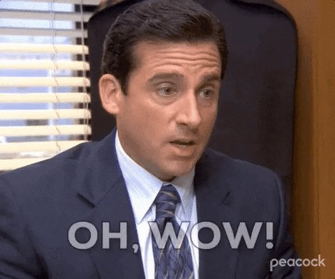 Season 4 Wow GIF by The Office