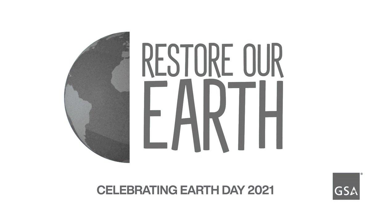 Happy #EarthDay from GSA!