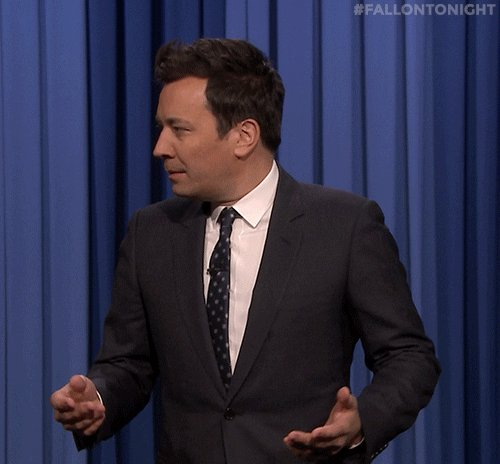 confused jimmy fallon GIF by The Tonight Show Starring Jimmy