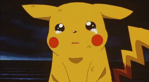 Sad Pikachu GIF