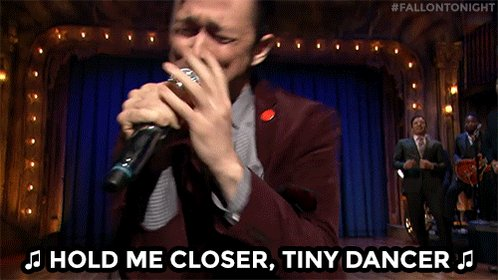 tonight show hold me closer tiny dancer GIF by The Tonight S