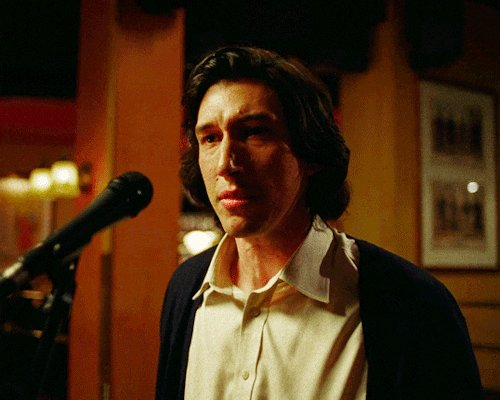 Being Alive Adam Driver GIF by MOODMAN