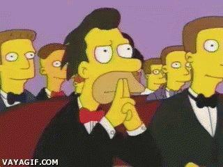The Simpsons Im Listening GIF