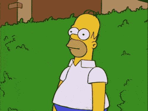 Homer Simpson Reaction GIF by reactionseditor
