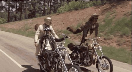 easy rider motorcycles GIF
