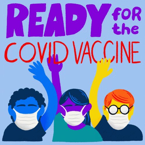 Ready For The Covid Vaccine...