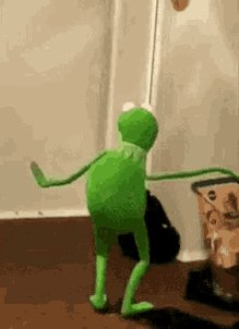Kermit Dance GIF