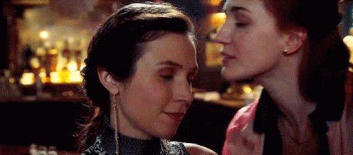 Wayhaught Lesbian GIF