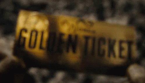 Golden Ticket GIF