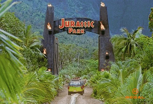 Jurassic Park Opening GIF by Regal