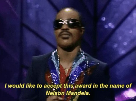 stevie wonder i would like to accept this award in the name