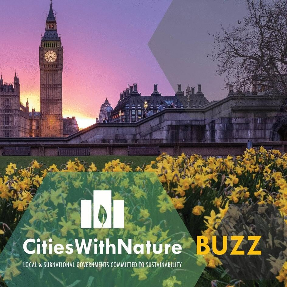 Image for the Tweet beginning: Our #CitiesWithNature BUZZ | April