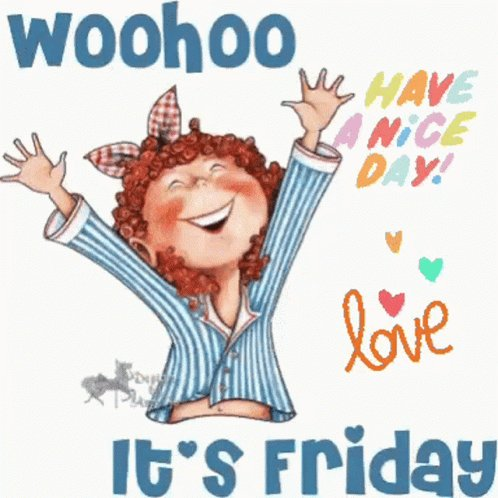 Some weeks at work are easier than others and while I ❤️ my job, this is one of those weeks, in which I am glad it is finally Friday!#FridayFeeling #FridayThoughts #FridayMotivation #fridaymorning