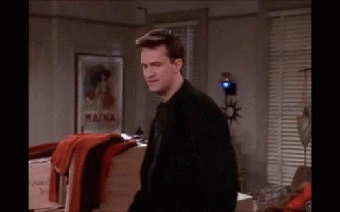 Chandler Live GIF