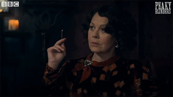 Certainly hits close to my ❤ abt #HelenMcCrory! She was brilliant throughout her 🎬📽 career! She portrayed deep complex women from #HarryPotter films  to Polly Gray of #PeakyBlinders 👢💄. My prayers to all her family & friends! TY beautiful soul🕊⭐💫💔🇬🇧 #RIPHelenMcCrory