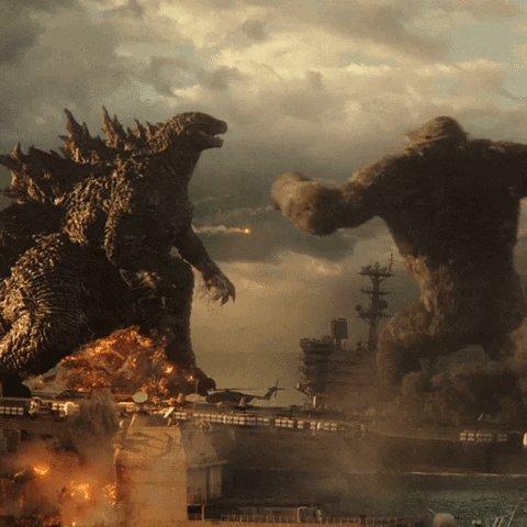 #GodzillaVsKong Nears $400M Worldwide  MORE: https://t.co/r6tqzGcfGY https://t.co/PmZjn2w2Wg