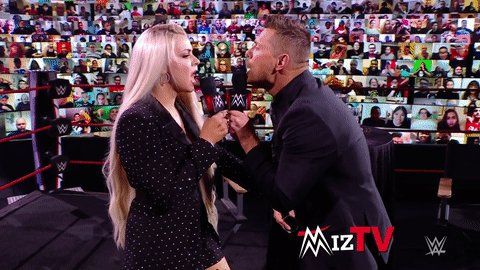 RT @WWEUniverse: 🎶 Can you feel the love tonight? 🎶  #WWERaw @mikethemiz @MaryseMizanin https://t.co/X6JBJpbjUu