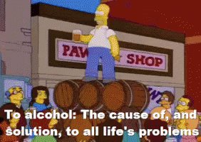 A Toast To Alcohol GIF