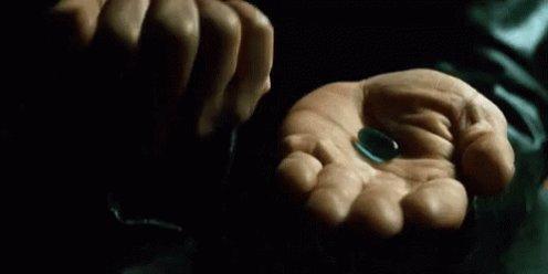 Лекарства Пилюли Синяя Красная М