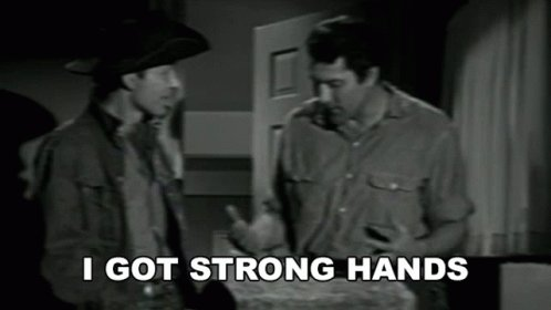 IGot Strong Hands Mike GIF