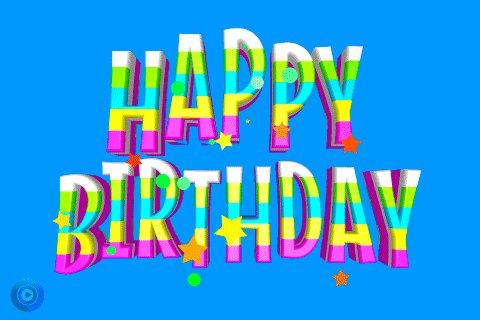 Happy Birthday GIF by Omer Studios
