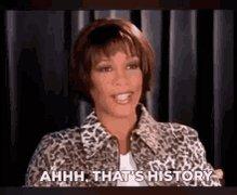 Whitney Houston History GIF
