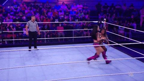What a move by @CoraJadeWWE!  #205Live @WWEEmberMoon https://t.co/n2x0ZpMRCI