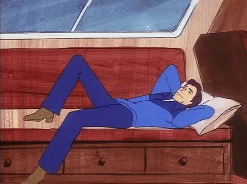 Relaxing Hanna Barbera GIF by Warner Archive