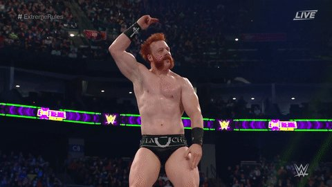 RT @WWE: Sheamus Hardy.  #ExtremeRules @WWESheamus https://t.co/Jd4Er480MH
