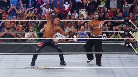 RT @WWE: Pure respect. Love to see it.  #ExtremeRules @ArcherOfInfamy @JEFFHARDYBRAND https://t.co/VzVcpbuk2M