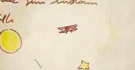 Le Petit Prince Plane GIF