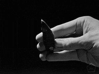 black and white vintage GIF...
