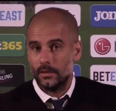 Pep Guardiola Wink GIF