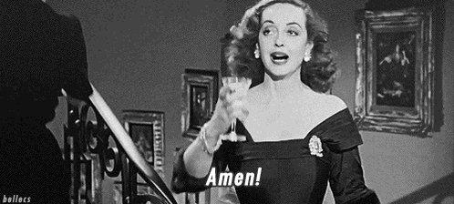Bette Davis Yes GIF