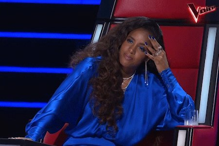 Kelly Rowland No GIF by The Voice Australia