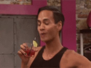 Happy Hour Drinking GIF