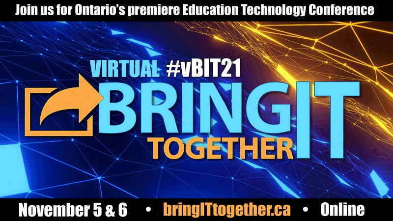 Join me at #vBIT21 Nov 5&6! Sessions, Social Events, Virtual Vendor Booths, Prizes!  A great virtual opportunity to learn and have FUN! https://t.co/WvjLFhhztM @ecooorg @Ontario_ASBO