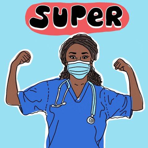 Super Hero Doctor GIF by GI...
