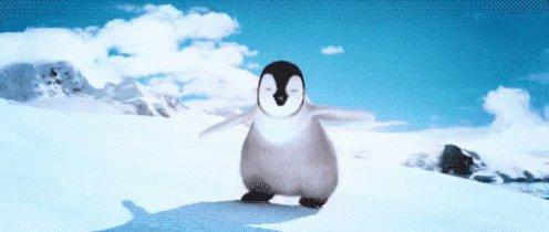Happy Feet Penguin GIF