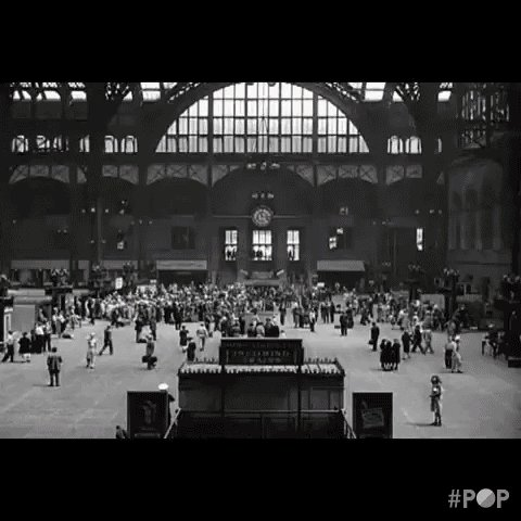 grand central station nyc GIF by GoPop