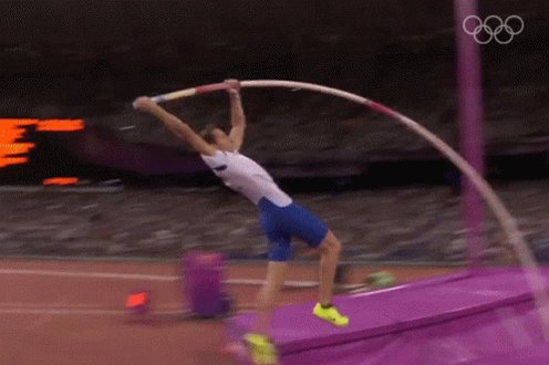 Pole Vault International Olympic Committee250Days GIF
