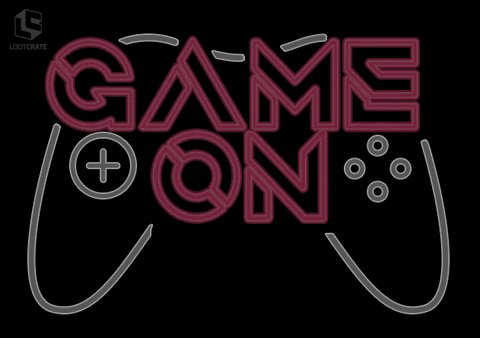 Video Games Neon GIF by Loot Crate