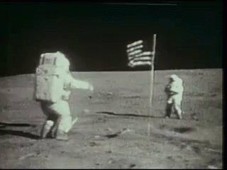 Moon Landing GIF