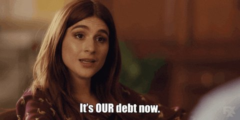 credit card money GIF by You're The Worst