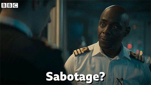 Drama Sabotage GIF by BBC