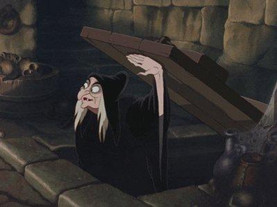 snow white witch GIF