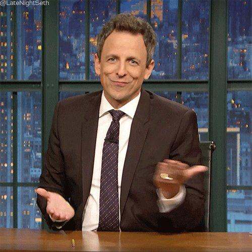 Seth Meyers GIF by Late Night with Seth Meyers