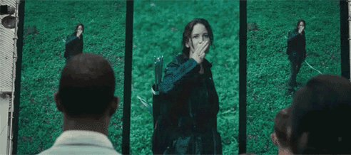 the hunger games hope GIF