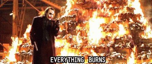 Joker Everything Burns GIF